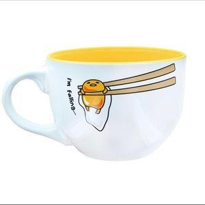 🍳Sanrio Gudetama 24oz X-Large Coffee Tea Soup Mug